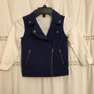 Tommy Hilfiger Blue Jacket for girls size 5